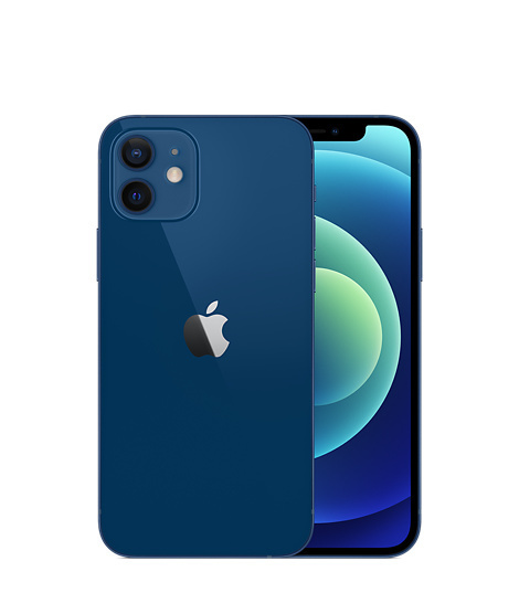 Apple iPhone 12 64GB Blue MGJ83 EU 24m* MGJ83 blue Mobilais Telefons