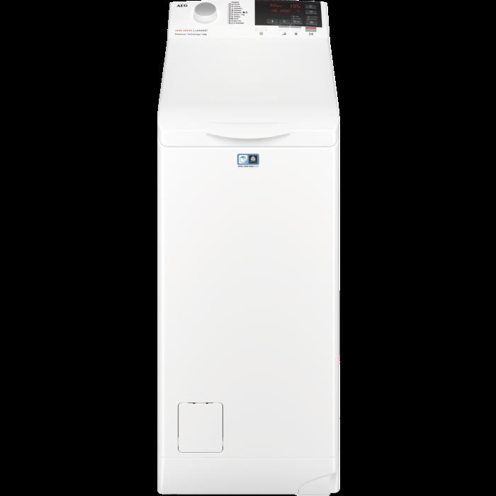 AEG veļas mazgājamā mašīna (augšas ielāde), balta, 6kg LTN6G261E Veļas mašīna