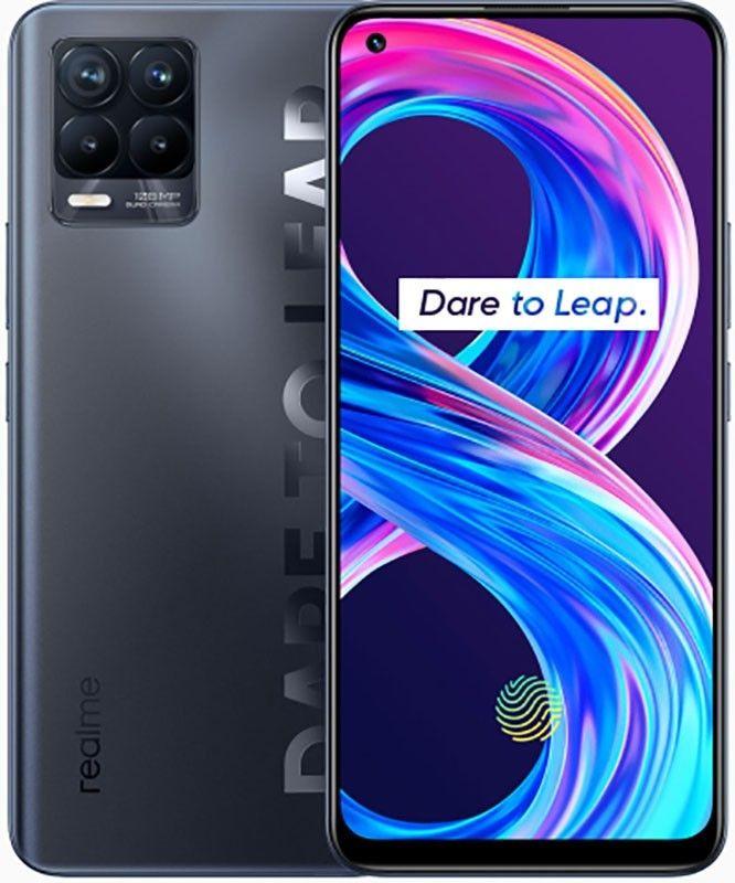 Realme 8 Pro 8GB/128GB Black Mobilais Telefons