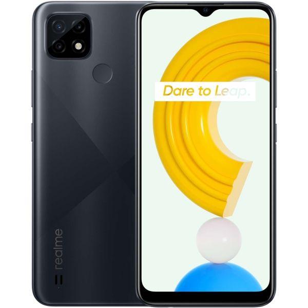Realme  C21 DS 4/64GB Cross Black RMX3201 Mobilais Telefons
