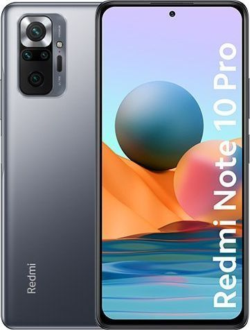 Smartfon Xiaomi Redmi Note 10 Pro 6/64GB Onyx Gray (31754) 31754 Mobilais Telefons