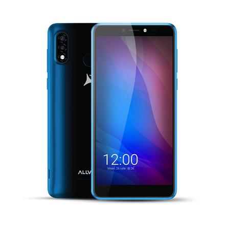 Allview A20 Lite Blue, 5.7 , Multitouch capacitive touchscreen, 2.5D, 480 x 960, Cortex-A7 Quad-core, Internal RAM 1 GB, 16 GB, Micro SD, Du Mobilais Telefons