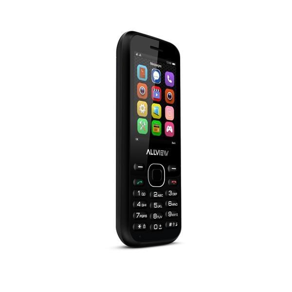 Allview M8 Stark Black, 2.4 , TFT, 240 x 320 pixels, Dual SIM, Bluetooth, 2.0, Built-in camera, Main camera 0.3 MP, 1000 mAh 5948790014522 Mobilais Telefons