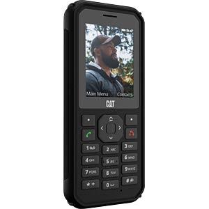 CAT B40 Dual SIM 4G LTE Black LV LT EE 4466 Mobilais Telefons