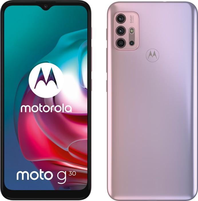 Motorola G30 DS - 6.5 - 128GB / 4GB purple - Android PAML0020SE Mobilais Telefons