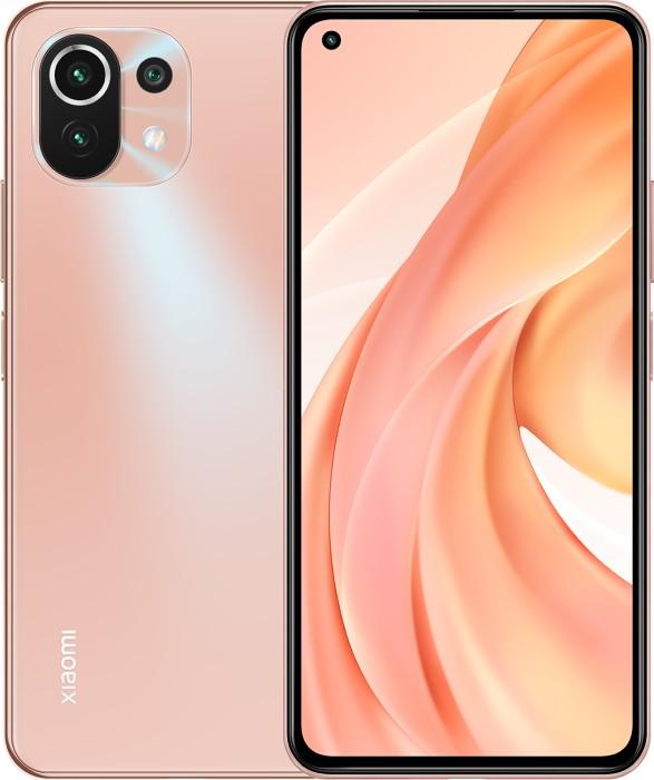 Xiaomi Mi 11 lite DUAL SIM - 6.55 - 128GB / 6GB pink - Android MZB08GLEU Mobilais Telefons