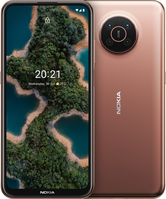 Nokia X20 DSM - 6.67 - 128GB / 8GB brown - Android Mobilais Telefons