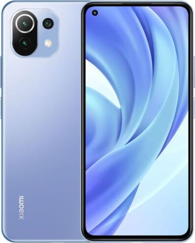 Smartfon Xiaomi Mi 11 Lite 6/128GB Dual SIM Niebieski  (xiaomi_20210421155922) xiaomi_20210421155922 Mobilais Telefons