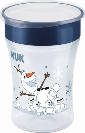 NUK Magic Cup 230ml Frozen Olaf 8m+ piederumi bērnu barošanai