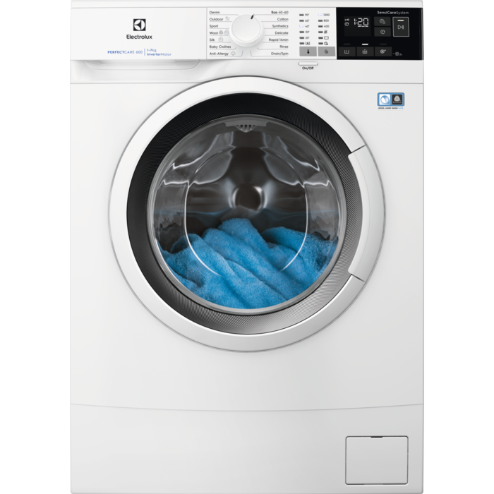 Electrolux veļas mazg.mašīna (front.ielāde) EW6S427WI Veļas mašīna