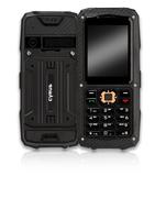 CYRUS OUTDOOR HANDY CM8 SOLID BLACK Mobilais Telefons
