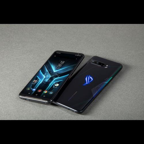 Asus ROG Phone 3 ZS661KS Black Glare, 6.59 , AMOLED, 1080 x 2340 pixels, Qualcomm SM8250, Snapdragon 865, Internal RAM 8 GB, 256 GB, Dual SI Mobilais Telefons
