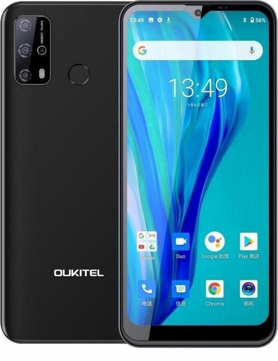 Smartfon Oukitel C23 Pro 4/64GB Dual SIM Czarny  (C23Pro Black) C23Pro Black Mobilais Telefons