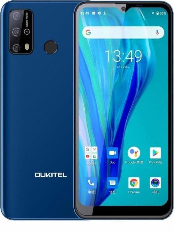 Smartfon Oukitel C23 Pro 4/64GB Dual SIM Granatowy  (C23Pro Blue) C23Pro Blue Mobilais Telefons