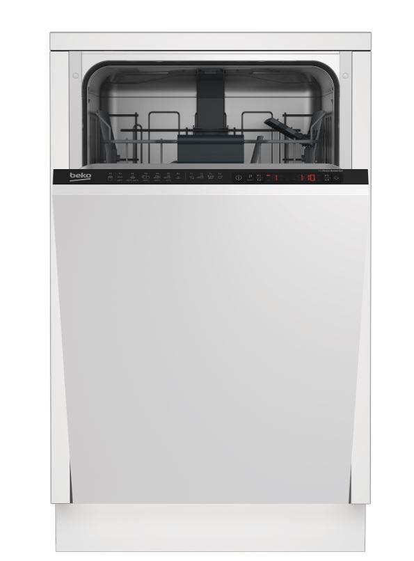 BEKO Dishwasher DIS26021 A++, 45 cm Iebūvējamā Trauku mazgājamā mašīna