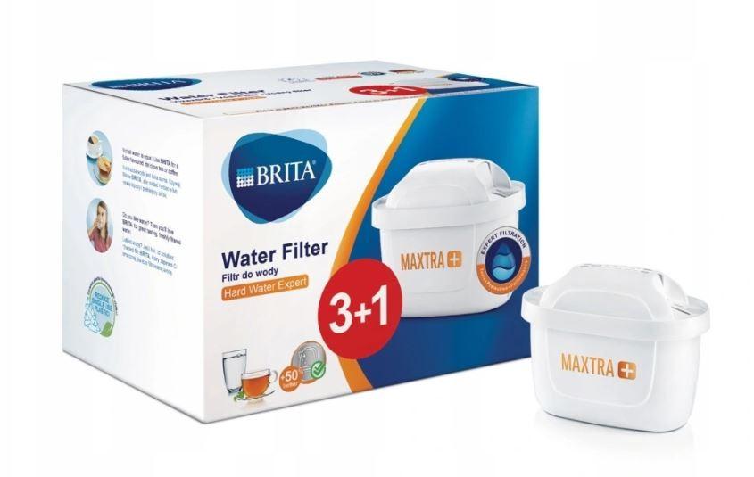 Brita MAXTRA Plus + 4x Hard Water Expert Virtuves piederumi