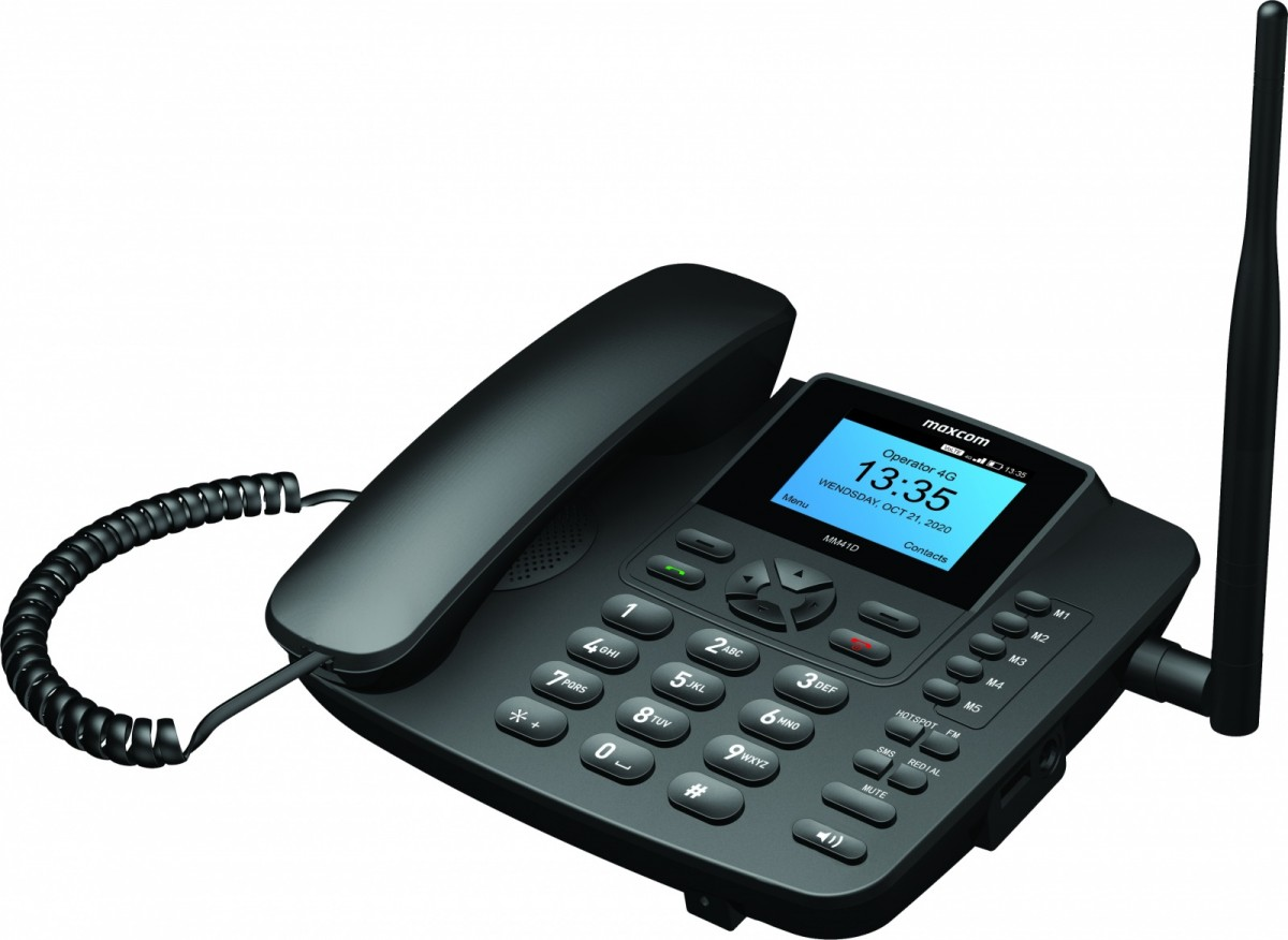 PHONE MM41 D 4G VOLTE OFFICE PHONE SIM Mobilais Telefons