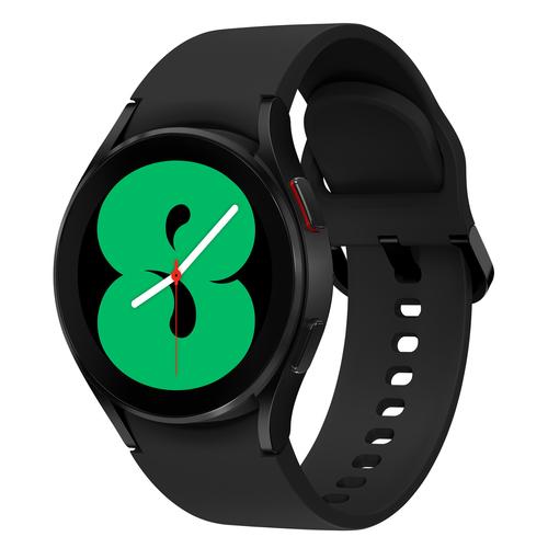 Samsung Galaxy Watch 4 Aluminum 40mm Black Viedais pulkstenis, smartwatch