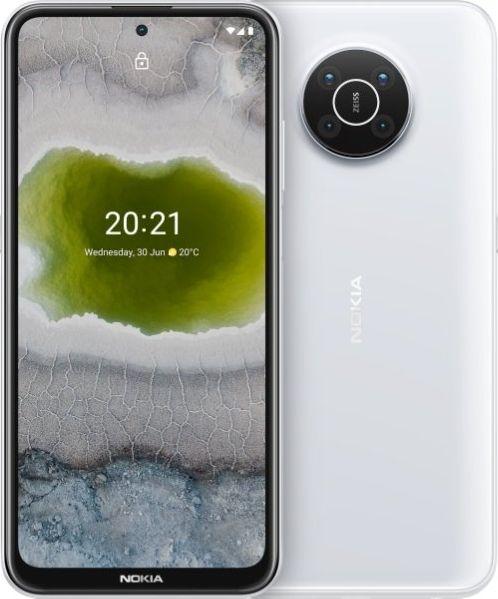 Nokia X10 TA-1332 DS 6/64 5G White Mobilais Telefons