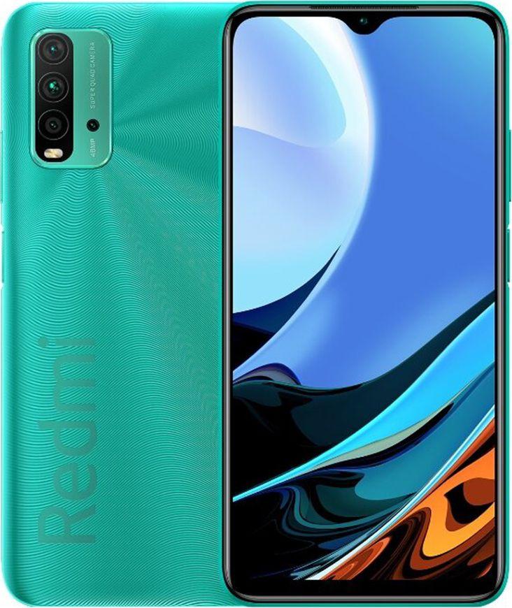 Smartfon Xiaomi Redmi 9T 4/64GB Dual SIM Zielony  (2_363200) 2_363200 Mobilais Telefons