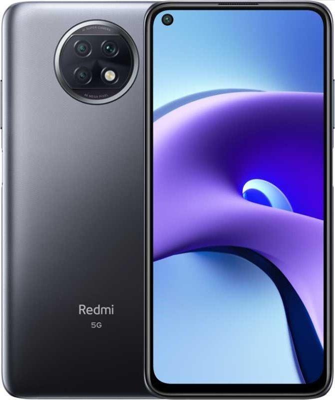 "Xiaomi Redmi Note 9T 128GB DS Black 6,5"" EU 5G Android Mobilais Telefons"