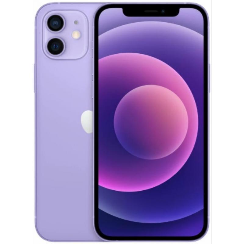 Apple iPhone 12 64GB Purple MJNM3 EU MJNM3 Purple Mobilais Telefons