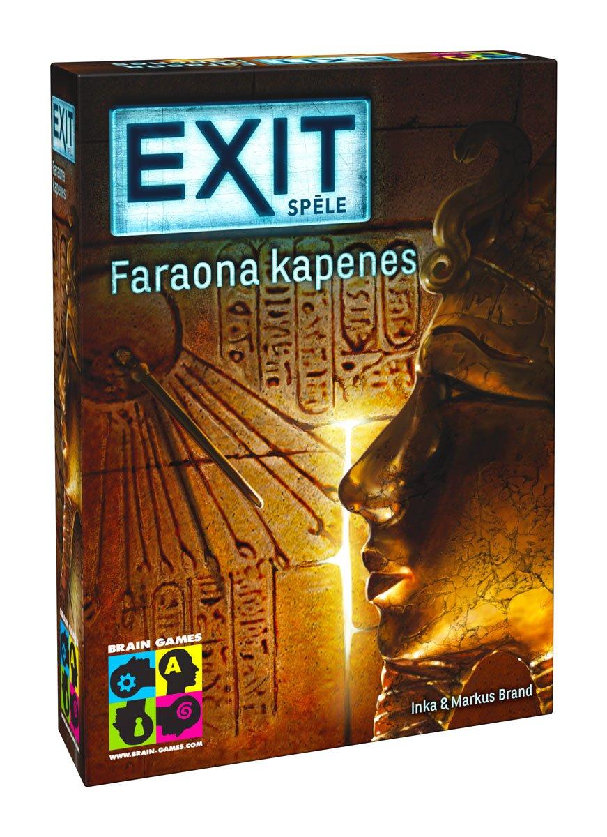 EXiT Spēle - Faraona Kapenes galda spēle