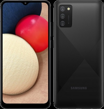 Samsung A025G/DSN Galaxy A02s Dual LTE 32GB Black A025G/DSN Black Mobilais Telefons