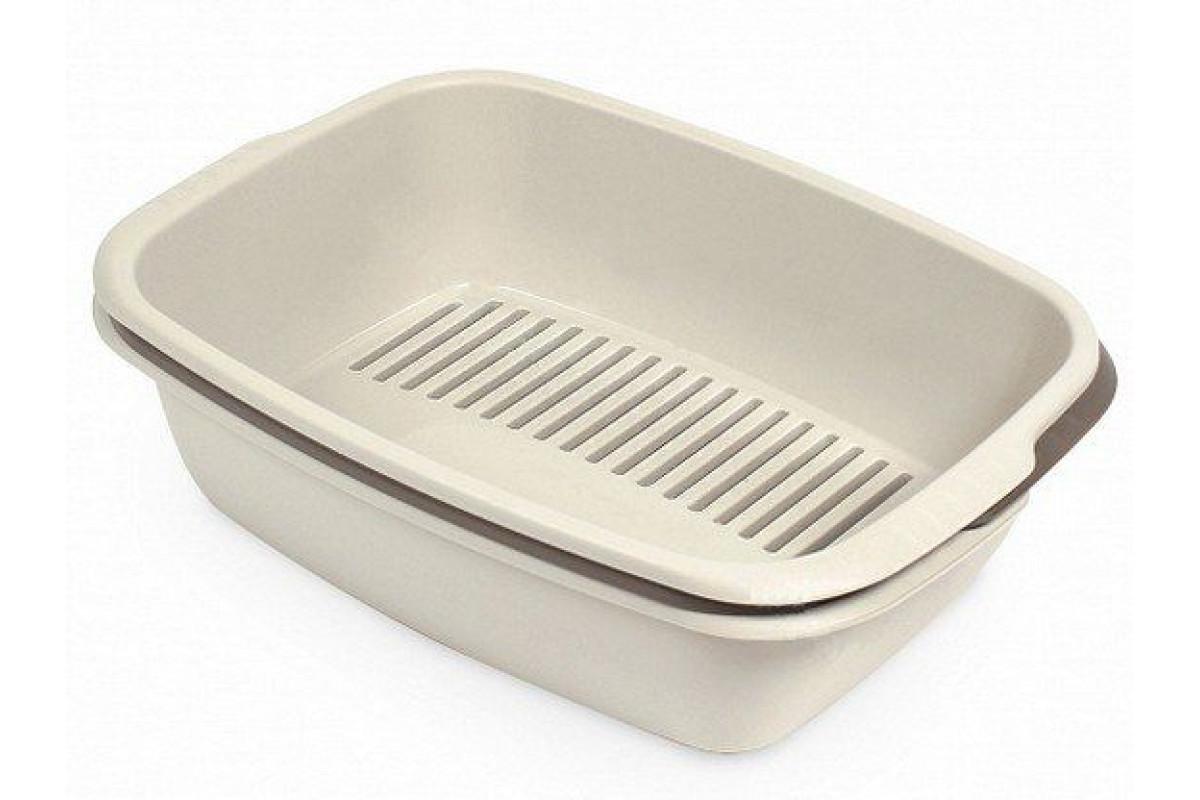Izpārdošana - Toilet for cats MPS Spa Miso 54x38x16 cm Brown (ir veikalā) piederumi kaķiem