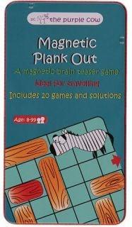 Izpārdošana - The Purple Cow Magnetic game The Purple Cow - Slide the board (ir veikalā) galda spēle
