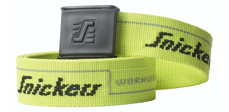Izpārdošana - Belt Snickers 9033-6600 yellow size 120cm (ir veikalā) Sporta aksesuāri
