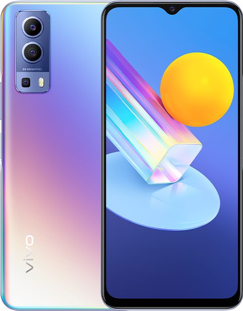 Smartfon Vivo Y72 5G 8/128GB Dual SIM Fioletowy  (40-48-4126) 40-48-4126 Mobilais Telefons