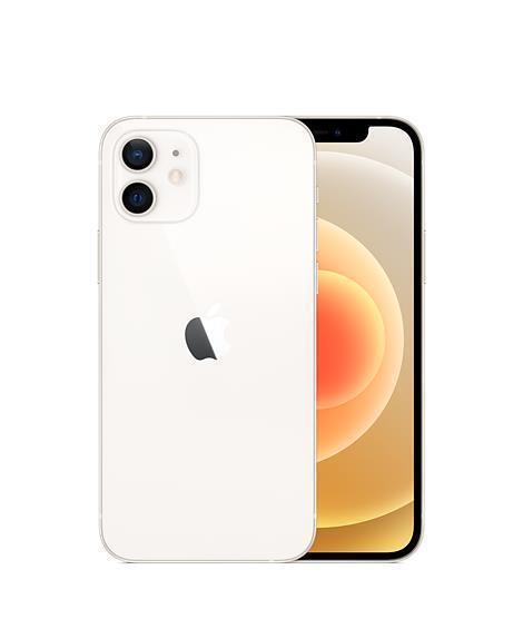 MOBILE PHONE IPHONE 12 5G/128GB WHITE MGJC3QN/A APPLE MGJC3QN/A Mobilais Telefons