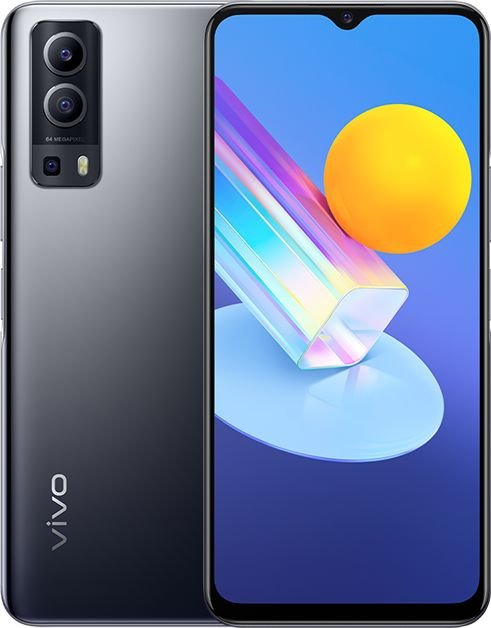 Smartfon Vivo Y72 5G 8/128GB Dual SIM Czarno-szary  (40-48-4127) 40-48-4127 Mobilais Telefons