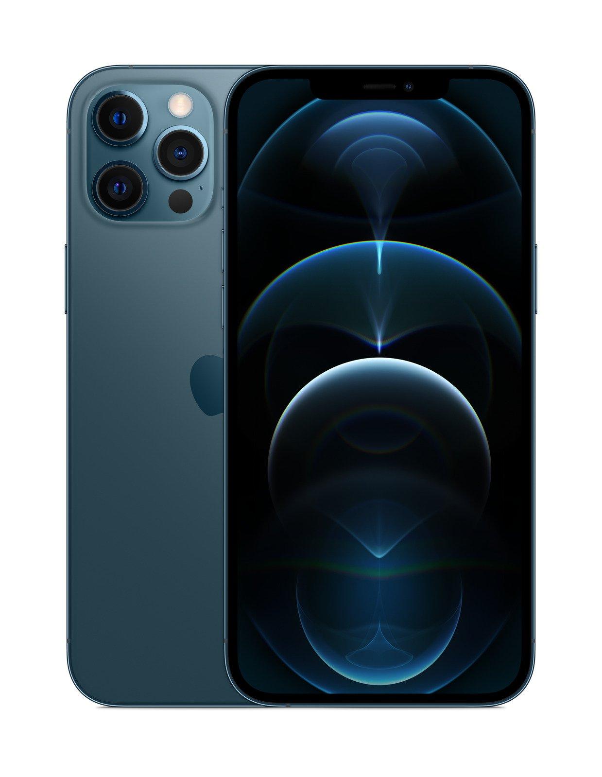 Apple iPhone 12 Pro Max - 512 GB - Pacific Blue 194252024942 Mobilais Telefons