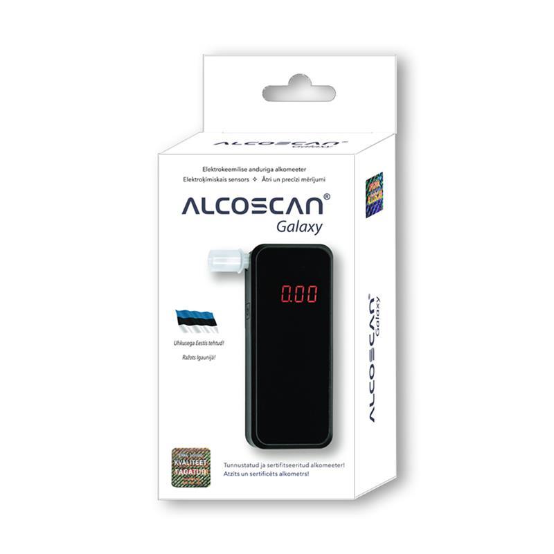 Alcometan Galaxy breathalyzer Alkometrs