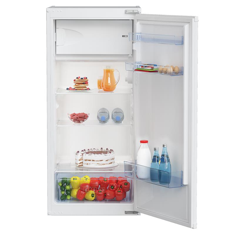 Beko BSSA200M3SN combi-fridge Built-in 175 L F White Iebūvējamais ledusskapis