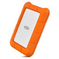 LaCie Rugged USB-C external hard drive 1 TB Orange,Silver (bulk iepakojums) Ārējais cietais disks