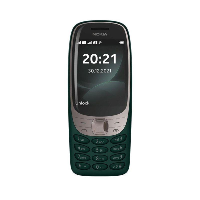 Nokia  6310 DS TA-1400 Green 16POSE01A07 Mobilais Telefons