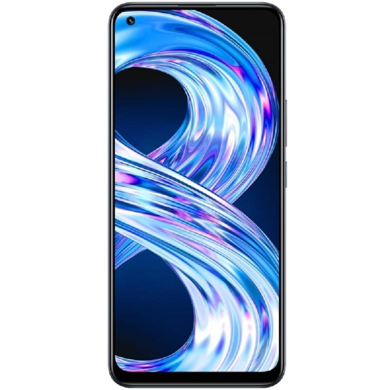 Realme 8 6GB/128GB Black Mobilais Telefons