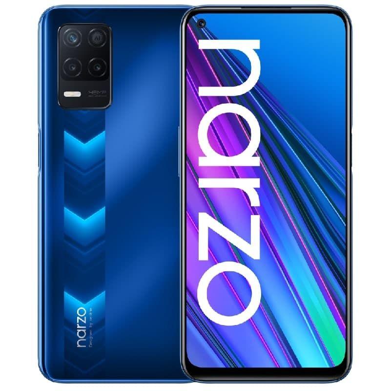 Realme  Narzo 30 5G DS 4/128GB Racing Blue RMX3242 Mobilais Telefons