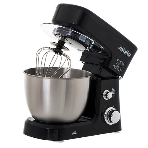 Mesko MS 4217 Food Processor, 1200 W, Number of speeds 6, Stainless steel/Black Virtuves kombains