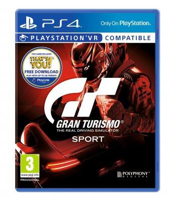 Gran Turismo: Sport /  CUSA02168 / ENG / RUS AUDIO / 3+ / Spēle / PS4 spēle
