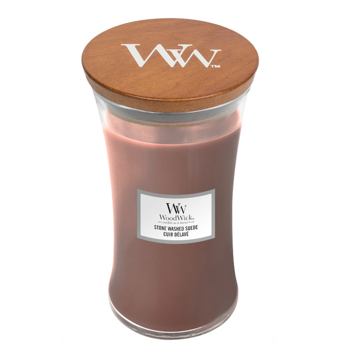WoodWick Stone Washed Suede 609,5g 1666273E