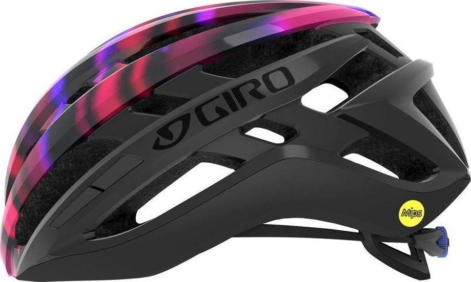 GIRO AGILIS INTEGRATED MIPS W matte black electric purple roz. M (55-59 cm)