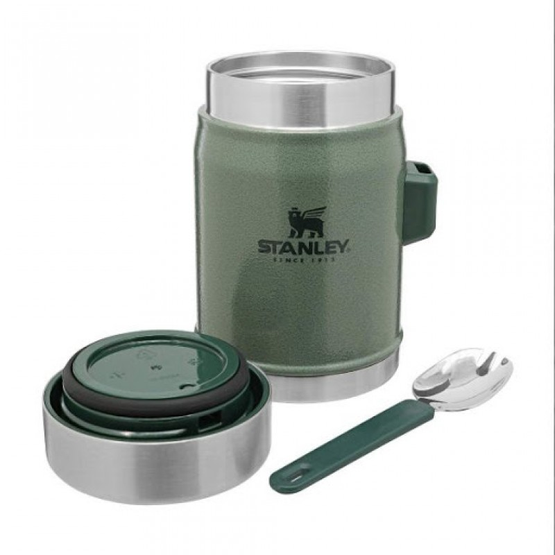 Stanley Termoss ēdienu The Legendary Classic 0,4L zaļš 2809382004 termoss