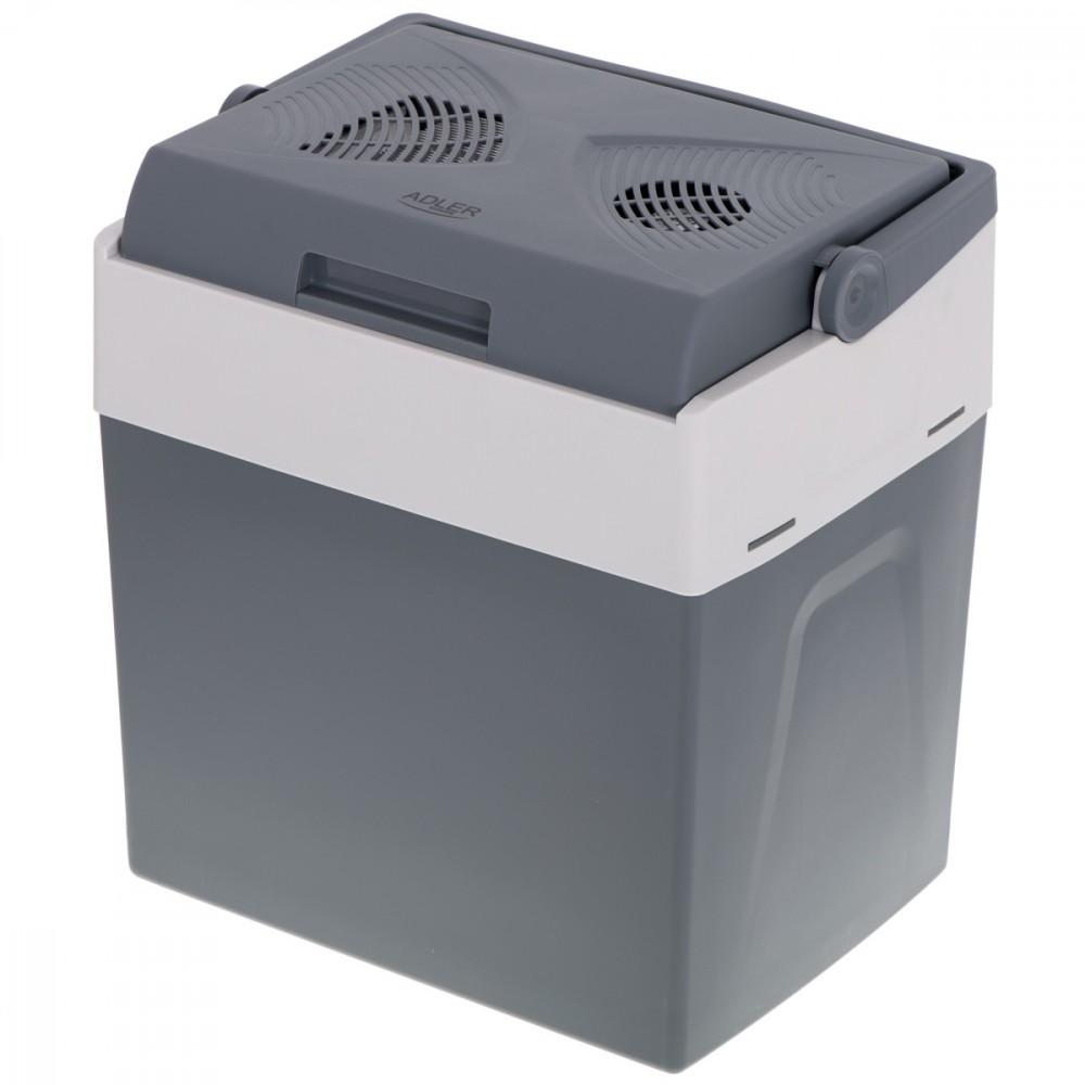 Adler AD 8078 cool box 30 L Electric Grey, White