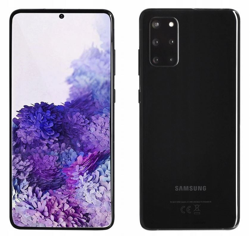 GALAXY S20+ Dual SIM 8/128GB Black Enterprise SM-G985FZKDEEE Mobilais Telefons