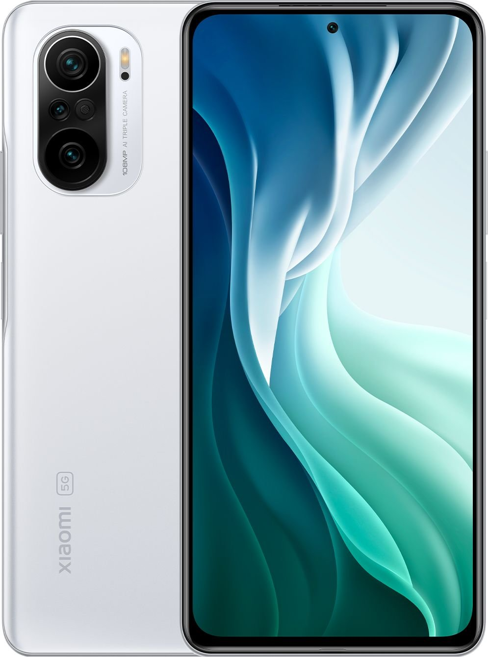 Smartfon Xiaomi Mi 11i 5G 8/256GB Dual SIM Bialy  (32768) 32768 Mobilais Telefons