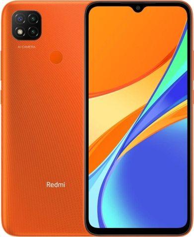 Smartfon Xiaomi Redmi 9C 2/32GB Orange (29258) MZB07PTEU Mobilais Telefons